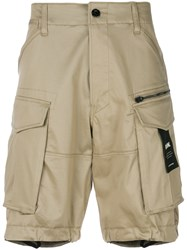 G Star Multi Pocket Cargo Shorts Nude And Neutrals