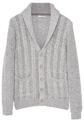 Mango Texasc Cardigan Medium Heather Grey