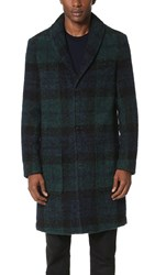 Carven Blackwatch Overcoat Multi