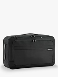 Briggs And Riley Baseline Convertible Duffle Backpack Black