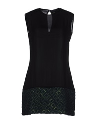 Mary Jane Short Dresses Dark Green