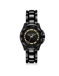 Karl Lagerfeld Karl 7 36 Mm Black Gold Ip Stainless Steel Unisex Watch