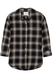 R 13 Oversized Plaid Cotton Shirt
