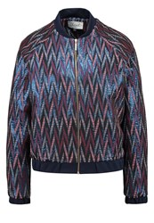 Closet Bomber Jacket Multi Multicoloured