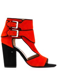 Laurence Dacade Buckled Boots Red
