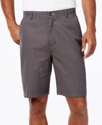 Geoffrey Beene Men's Classic Fit Striped Shorts Black