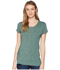 Kuhl Svenna Short Sleeve Fern Clothing Green