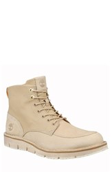 Timberland Men's Westmore Apron Toe Boot Croissant Fabric