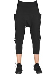 Y 3 Cotton Jersey Sarouel Pants