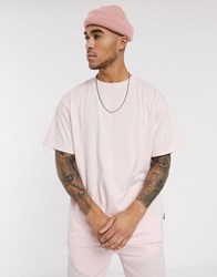Soul Star Mix And Match Organic Cotton Oversized T Shirt In Pink