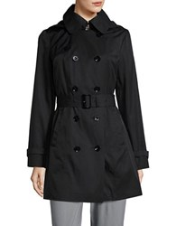 Michael Kors Double Breasted Trench Coat Black