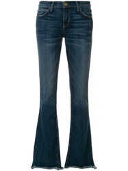 Current Elliott Flared Jeans Blue