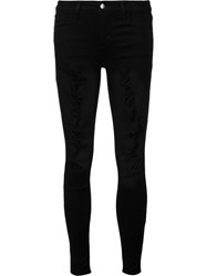 Joe's Jeans Distressed Skinny Black