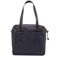 Filson Zip Tote Bag Blue