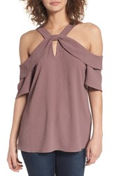 Leith Women's Ruffle Off The Shoulder Top