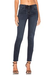 Blank Nyc Lace Front Skinny Blue