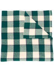 Acne Studios Checked Winter Scarf 60