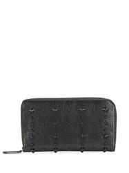 Jimmy Choo Carnaby Zipped Wallet Black