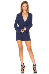 Bardot Millie Playsuit Navy