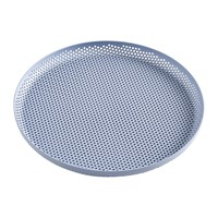 Hay Perforated Aluminium Tray Medium Light Blue