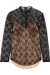 Alexander Wang Lace Top Black
