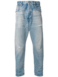 Citizens Of Humanity Cropped Loose Fit Jeans Blue