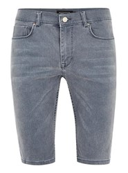Antioch Indigo Coated Denim Shorts