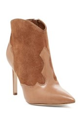 Sam Edelman Bradley Pointed Toe Heeled Bootie Brown