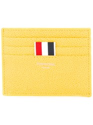 Thom Browne Grained Cardholder Yellow Orange