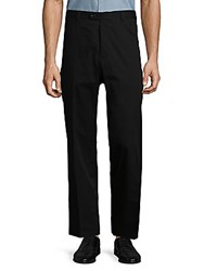 Saks Fifth Avenue Classic Straight Trousers Black