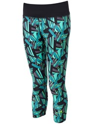 Ronhill Momentum Cropped Running Tights Jade
