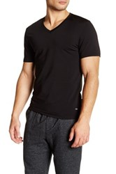 Naked Silver V Neck Shirt Black