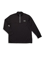 Callaway Long Sleeve Solid Jacket Caviar