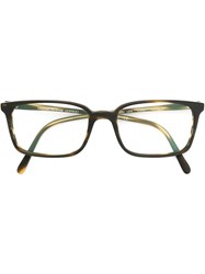 Oliver Peoples 'Tosello' Glasses Brown