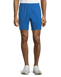 Peter Millar Montreal Action Stretch Training Shorts Blue