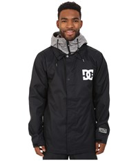 Dc Cash Only Snow Jacket Anthracite Men's Coat Pewter