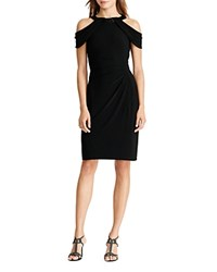 Ralph Lauren Cold Shoulder Dress Black