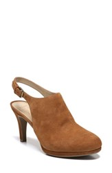 Naturalizer Women's Margo Pump Whiskey Suede
