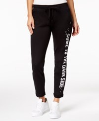 Star Wars Juniors' Darth Vader Graphic Sweatpants Black