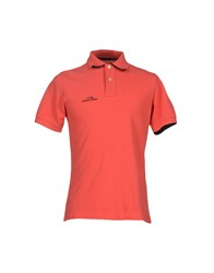 Etiqueta Negra Topwear Polo Shirts Men Red