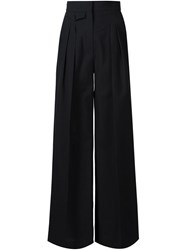 Christophe Lemaire Lemaire Pleated Palazzo Pants Black
