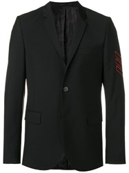 Zadig And Voltaire Tailored Fit Blazer Black