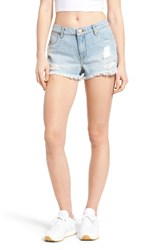Women's Bp. Ripped Denim Cutoff Shorts