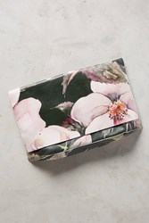 Anthropologie Flora Foldover Clutch Moss