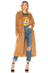 House Of Harlow X Revolve Perry Coat Tan