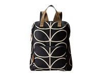 Orla Kiely Backpack Tote Liquorice Backpack Bags Brown