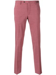 Pt01 Chino Trousers Red