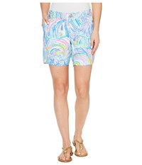 Lilly Pulitzer Jayne Shorts Multi Gillty Pleasure Women's Shorts Blue