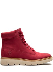 Timberland Kenniston 6 Inch Boots Red