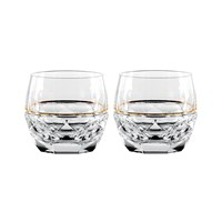 Waterford Jo Sampson Elysian Rocks Glass Set Of 2